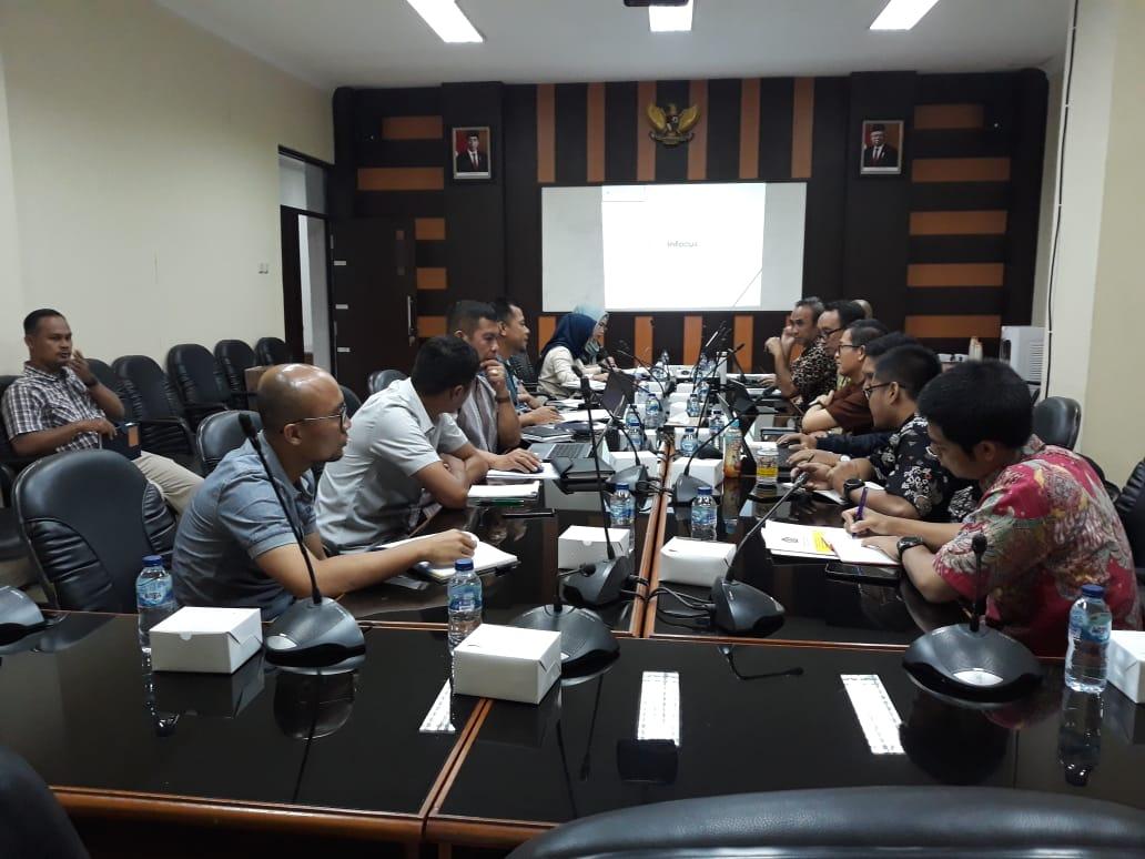 Rapat PKS DJP dengan Bapenda