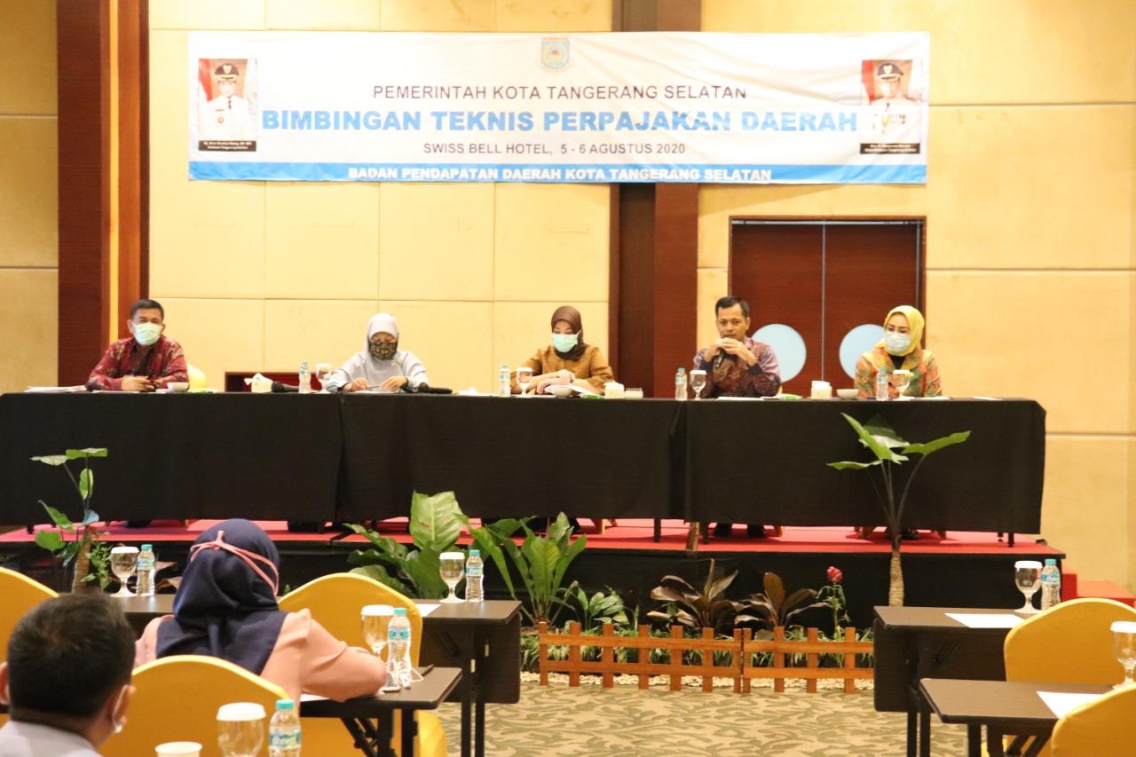 Bapenda Kota Tangerang Selatan Melaksanakan Kegiatan Bimbingan Teknis