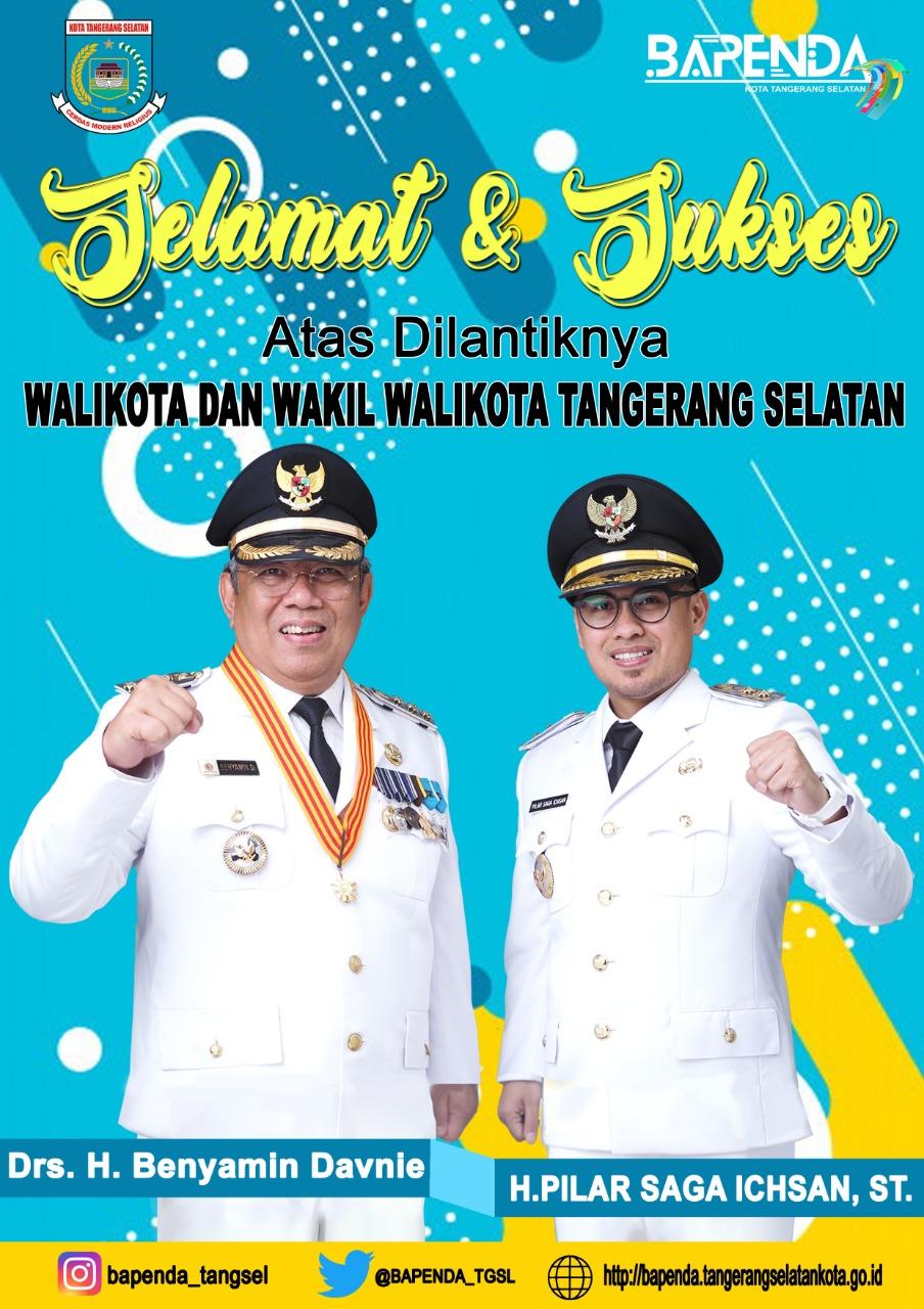 Pelantikan Walikota dan Wakil Walikota Tangerang Selatan